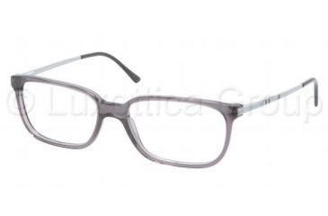 Polo PH2087 Single Vision Prescription Eyeglasses 5320-5216 - Shiny Grey Frame, Demo Lens Lenses