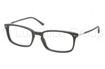 Polo PH2088 Progressive Prescription Eyeglasses 5001-5118 - Shiny Black Frame