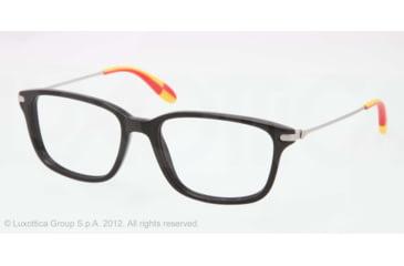Polo PH2105 Eyeglass Frames 5001-51 - Black Frame, Demo Lens Lenses