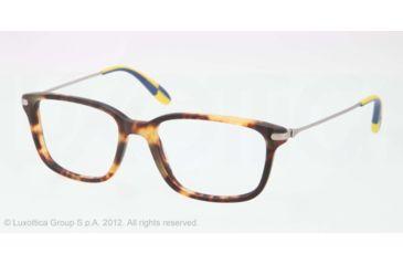 Polo PH2105 Eyeglass Frames 5351-51 - Matte New Jerry Tortoise Frame, Demo Lens Lenses