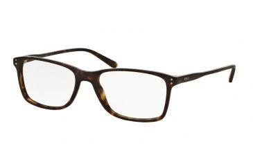 44a4b010e6a Polo PH2155 Eyeglass Frames 5003-54 - Shiny Dark Havana Frame