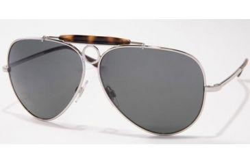 Polo Sport PH3009 #900187 - Matte Silver Frame, Gray Lenses