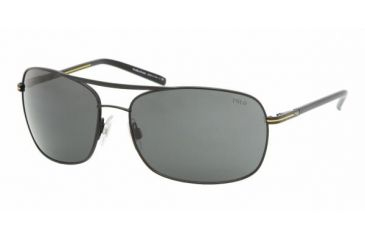 Polo Sport PH3050 #903887 - Matte Black Frame, Gray Lenses