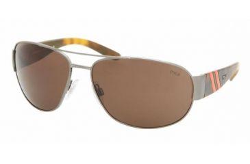 Polo Sport PH3052 #900273 - Gunmetal Frame, Brown Lenses