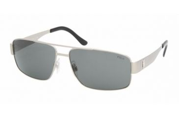Polo Sport PH3054 #910487 - Brushed Silver Gray Frame