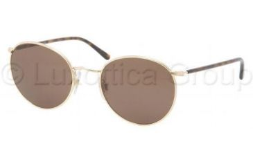 Polo PH3057M Sunglasses 900473-5120 - Shiny Gold Frame, Brown Lenses