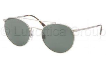 Polo PH3060P Sunglasses 900131-5120 - Matte Silver Frame, Crystal Green Lenses