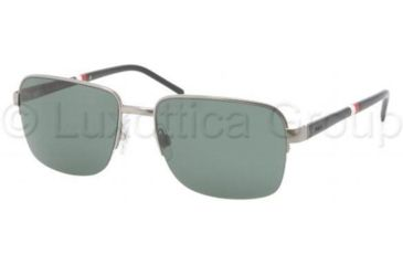 Polo PH3062 Sunglasses 900271-5617 - Gunmetal Frame, Green Lenses