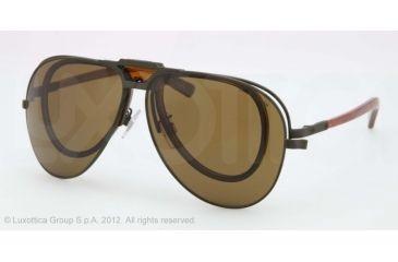 Polo PH3075 Sunglasses 900573-62 - Camo Green Frame, Brown Lenses