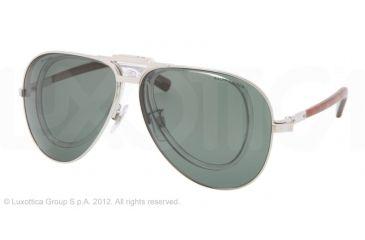 Polo PH3075 Bifocal Prescription Sunglasses PH3075-92199A-62 - Lens Diameter 62 mm, Frame Color Shiny Silver