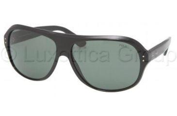 Polo PH4046 Sunglasses 500171-6414 - Shiny Black Gray Green