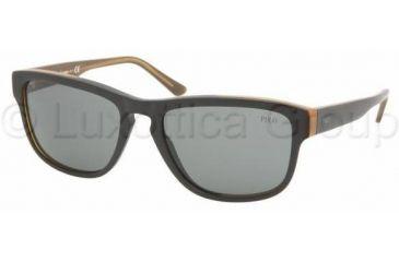Polo PH4053 Sunglasses 529087-5417 - Black-amber Gray