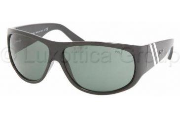 Polo PH4057 Single Vision Prescription Sunglasses PH4057-500171-6512 - Lens Diameter 65 mm, Frame Color Shiny Black