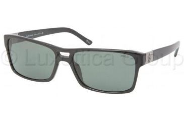 Polo PH4060 Single Vision Prescription Sunglasses PH4060-500171-5816 - Lens Diameter 58 mm, Frame Color Shiny Black