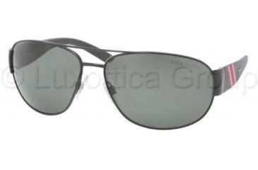 Polo PH3052 Sunglasses with No-Line Progressive Rx Prescription Lenses PH3052-90039A-6515 - Lens Diameter: 65 mm, Frame Color: Shiny Black