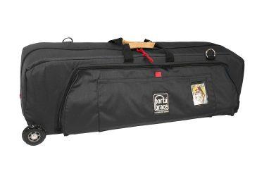 Porta Brace Medium Run Bag with Off-Road Wheels,Black WRB-3ORB
