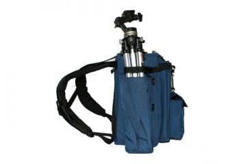 PortaBrace BK-1NQS-M4 Small Backpack Camera Case - Blue