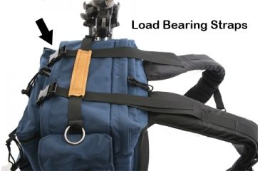 PortaBrace Backpack Camera Case - Blue