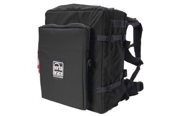 PortaBrace BK-3BEXL Modular Camcorder Case Backpack Extreme - with HD Laptop Module - Black