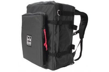 Porta Brace BK-3BLCL Modular Backpack Camera Case, Large, with Laptop Module and Standard Straps - Black