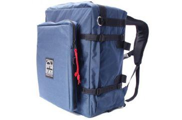 Portabrace BK-3LCL Modular Backpack Camera Case w/ Laptop Module, Blue