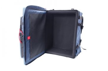 PortaBrace BK-3LCL Modular Camcorder Video Camera Case, Large, with Laptop Module and Standard Straps - Blue