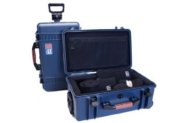 PortaBrace Super-Lite Hard Case w/ Wheels and Divider Kit PB-2550DK