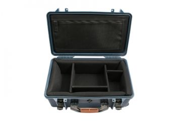 PortaBrace Super-Lite Wheeled Hard Case w/ Dividers 2550DK