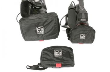 Porta-Brace Large, Medium and Small Lens Covers - Black
