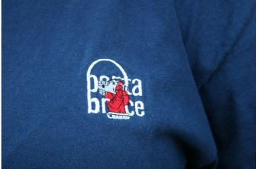 Porta Brace Logo T-Shirt - Blue