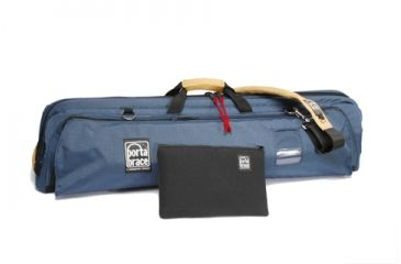 PortaBrace Quick Tripod 41-in. Tripod Case - Deep Interior - Blue