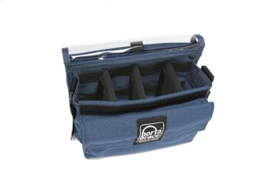 PortaBrace Wireless Microphone Case - Blue