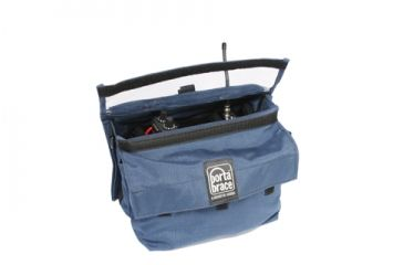 PortaBrace RM-MULTI/D Deluxe Microphone Case - Blue