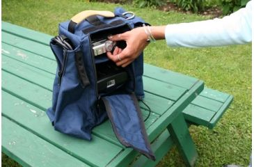 PortaBrace SL1 Sling Pack for Camera Accessories - Blue