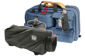 Porta-Brace Travelers Video Camera Case with Quick Slick Mini rain cover CTC-3 / QSM-E2