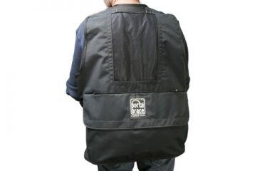 Porta Brace Video Vest with Hood - Black