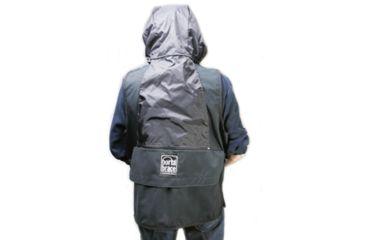 Porta-Brace VV-LBLH Video Vest, Large with Hood - Black