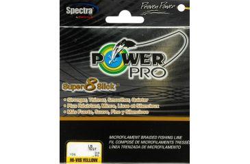 Power Pro Super 8 Slick 150 yds. Yellow - 20 lb. Test, Yellow 067175