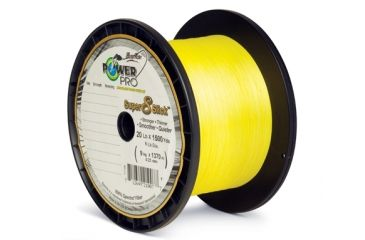 Power Pro Super 8 Slick Yellow 300 yds. - 65 lb. Test, Yellow 067187