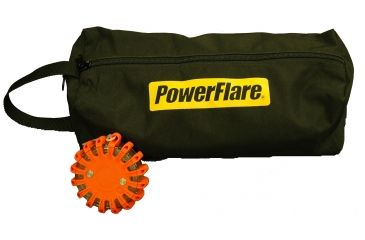 Powerflare Large Storage Carry Bag for PF-200 Safety Lights - Holds up to 18 Units, Black BAG18-BK-HD