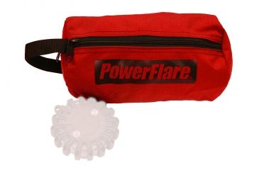 Powerflare Medium Storage & Carry Bag for PF-200 Safety Lights - Hold up to 8 Units, Red BAG8-R