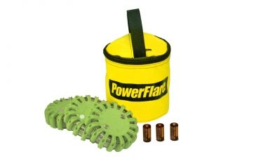 Powerflare PF-200 Softpack,  3 Safety Lights,Infrared LED,Yellow Bag,3 Batteries, Olive Drab Shell SP3Y-I-OD