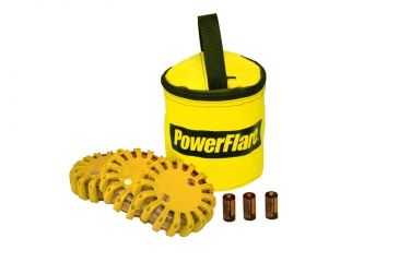 Powerflare PF-200 Softpack,  3 Safety Lights,Infrared LED,Yellow Bag,3 Batteries, Yellow Shell SP3Y-I-Y