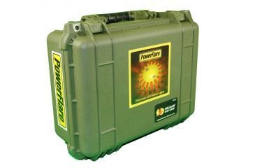 Powerflare PF-200 Multipack - 24 Units in Various LED Colors,24 Batteries,Olive Drab Case MULTIPACK24-OD