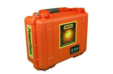 Powerflare PF-200 Multipack - 24 Units in Various LED Colors,24 Batteries,Orange Case MULTIPACK24-O