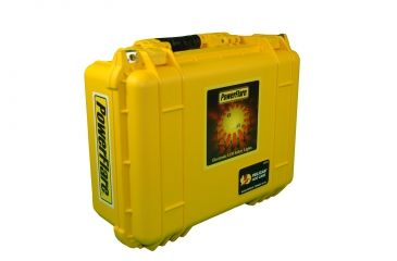 Powerflare PF-200 Incident Command Pack - 24 Lights,Infrared LED,Black Case, 24 Batteries, Yellow Shell PFPACK24BK-I-Y