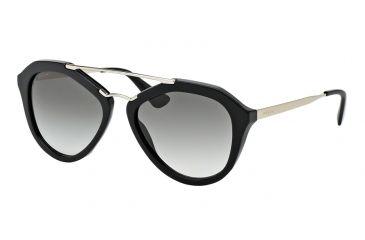 da8a041f82e Prada CINEMA PR12QSA Sunglasses 1AB0A7-54 - Black Frame