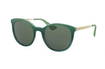 d939cc4c78d4 Prada CINEMA PR17SS Sunglasses UFU3O1-53 - Green Gradient Frame