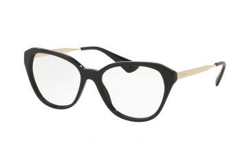 1fcbbf8d011 Prada CINEMA PR28SVF Eyeglass Frames 1AB1O1-54 - Black Frame