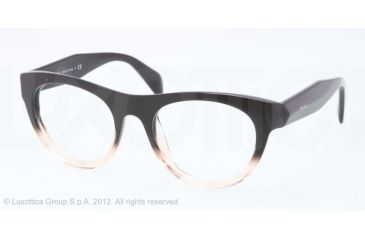 Prada JOURNAL PR02QV Single Vision Prescription Eyeglasses QFJ1O1-50 - Violet Gradient Frame